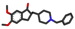 Donepezil (trade name Aricept)