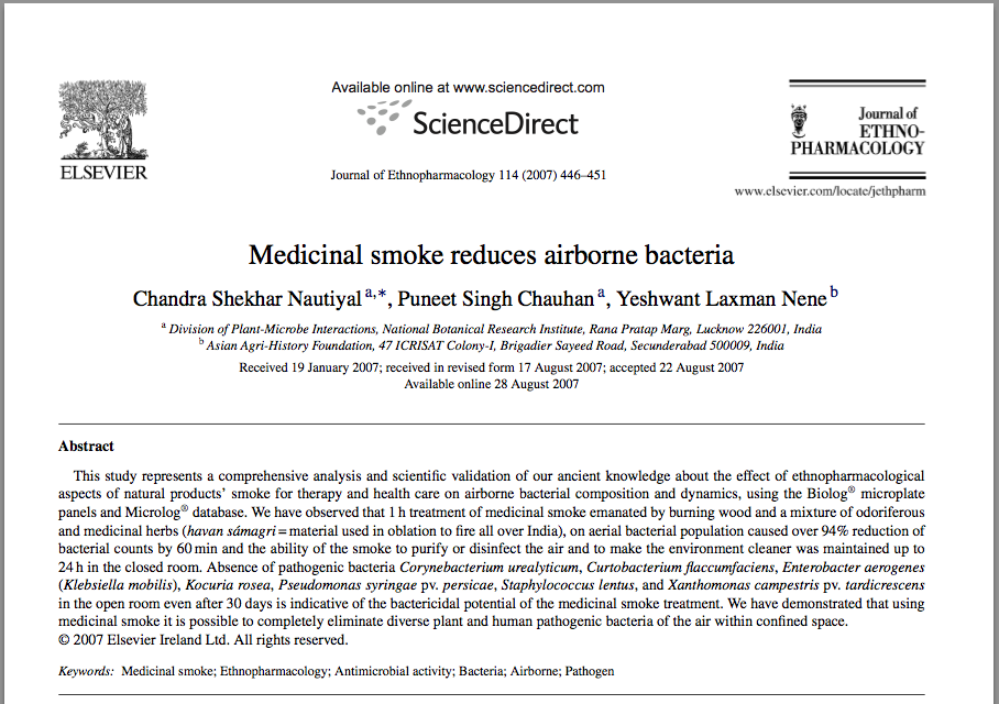 /article/medicinal-smoke-can-completely-eliminate-diverse-plant-and-human-pathogenic-bacteria-air