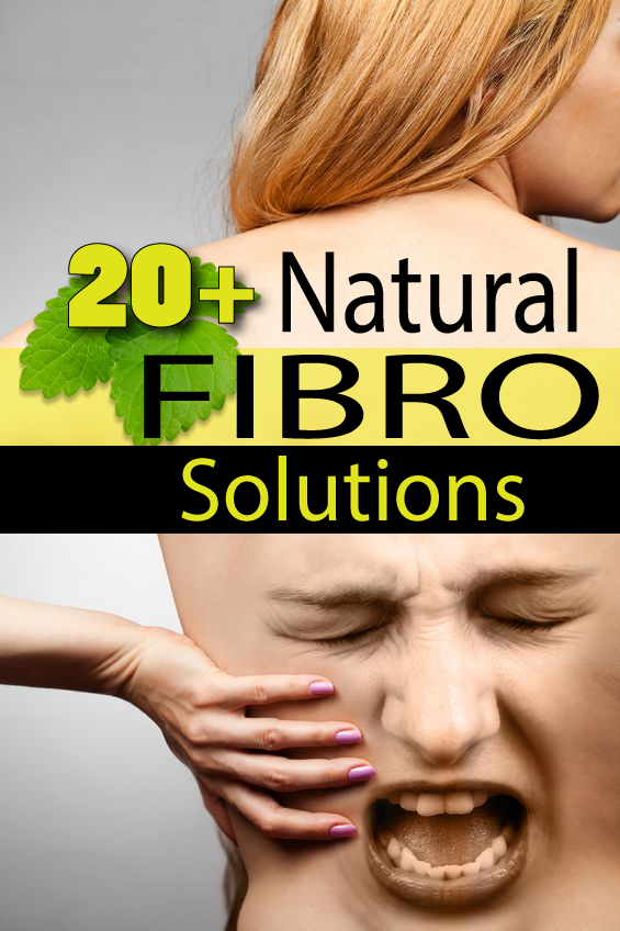 20+ Natural Fibromyalgia Solutions Including The Gluten Free Diet