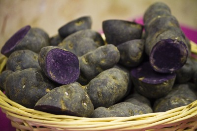 Lower Your Blood Pressure with Purple Potatoes