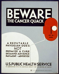 Quacks, Quack Doctors, and Quackery