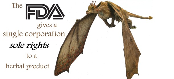 FDA gives dragon's blood to corporation