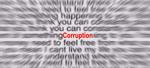 Corruption, by Mark Holloway (D'Oh Boy, flickr)