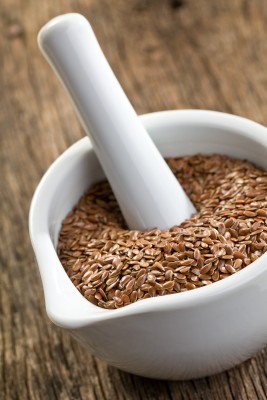 Flaxseed Contains 'Estrogens' That Regress Cancer