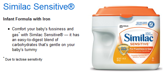Similac Sensitive - Infant Formula with Iron