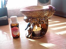 Aromatherapy reduces stress