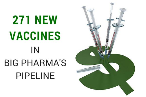 Roll Up Your Sleeves Folks, There are 271 New Vaccines in Big Pharma's Pipeline