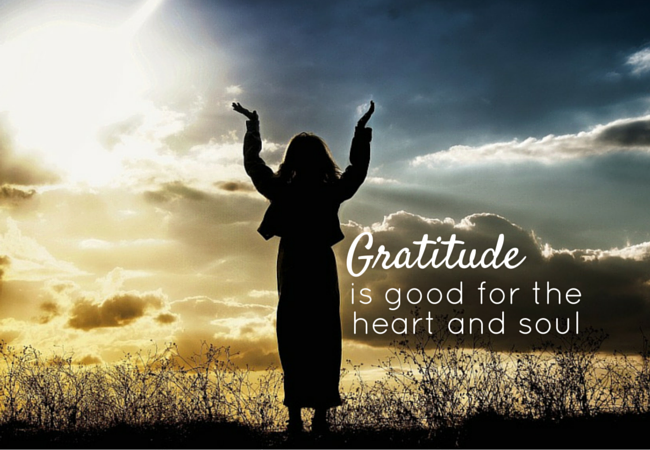 Gratitude is Good for the Heart and Soul