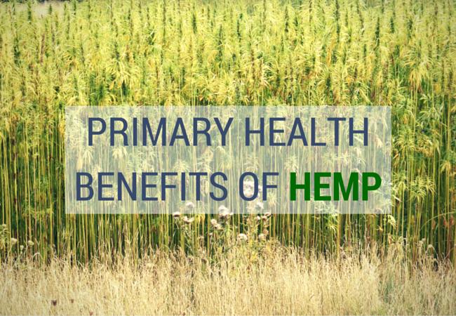 Primary Health Benefits of Hemp