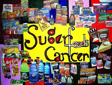 Sugar Feeds Cancer