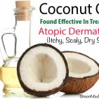 Coconut Oil Found Effective In Treating Atopic Dermatitis (Dry, Itchy, Scaly Skin)