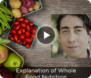 Explanation of Whole Food Nutrition - Weekly Video