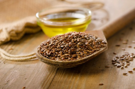 flax seeds and oil
